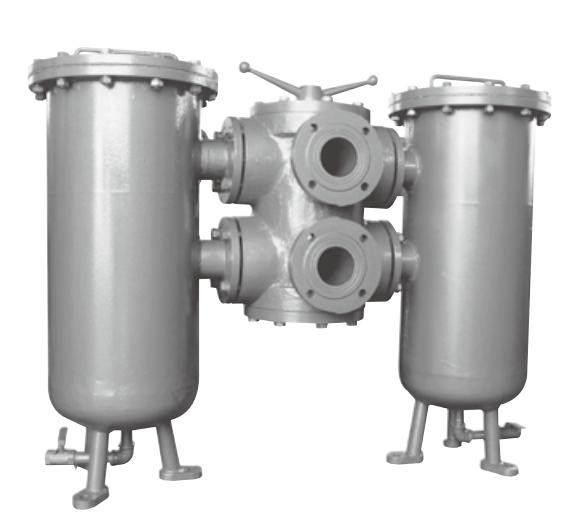 SLQ型双筒网片式油滤器